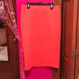 NWT Neon Orange Skirt 🧡🧡